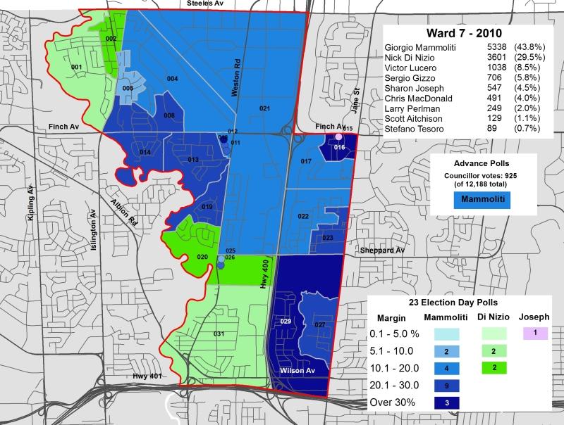 2010 Election - WARD 7 Cllr