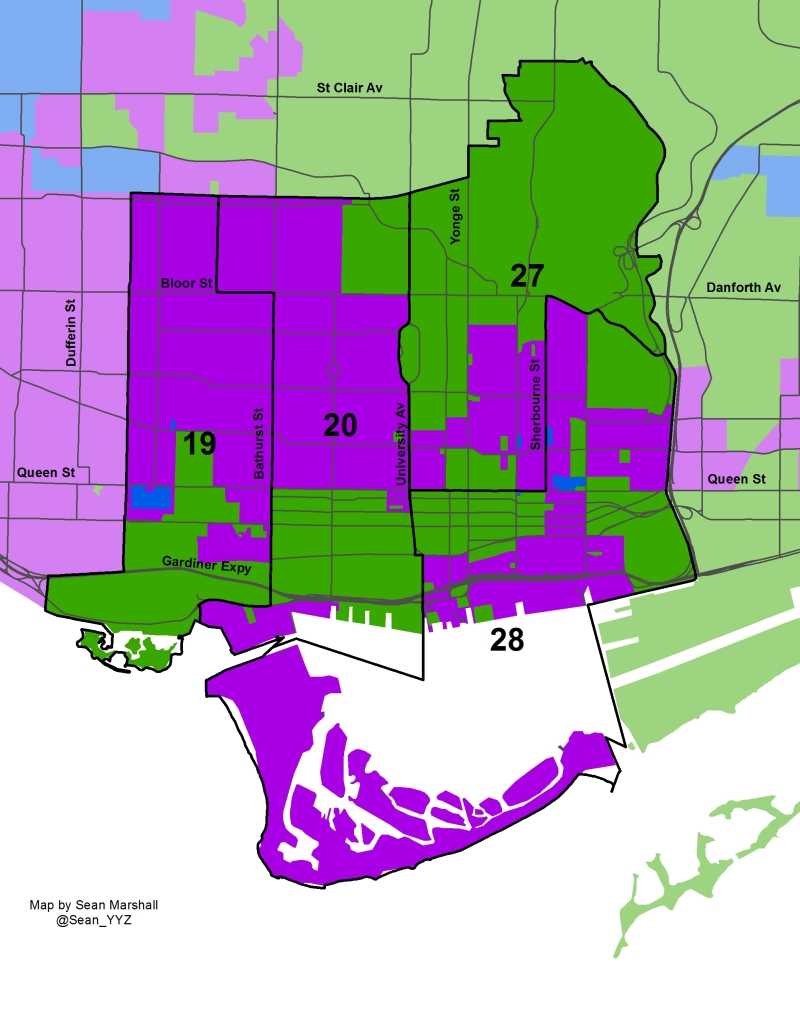 2014 Election - Downtown Wards Mayor Solid