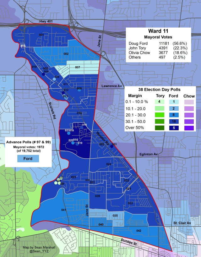 2014 Election - WARD 11 Mayor