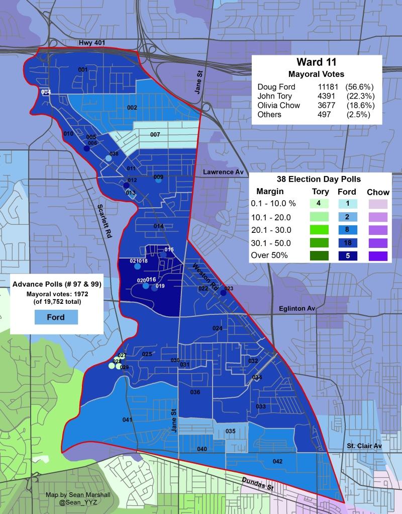 2014 Election - WARD 11 Mayor