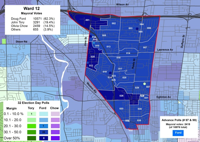 2014 Election - WARD 12 Mayor