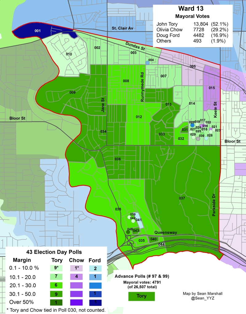 2014 Election - WARD 13 Mayor