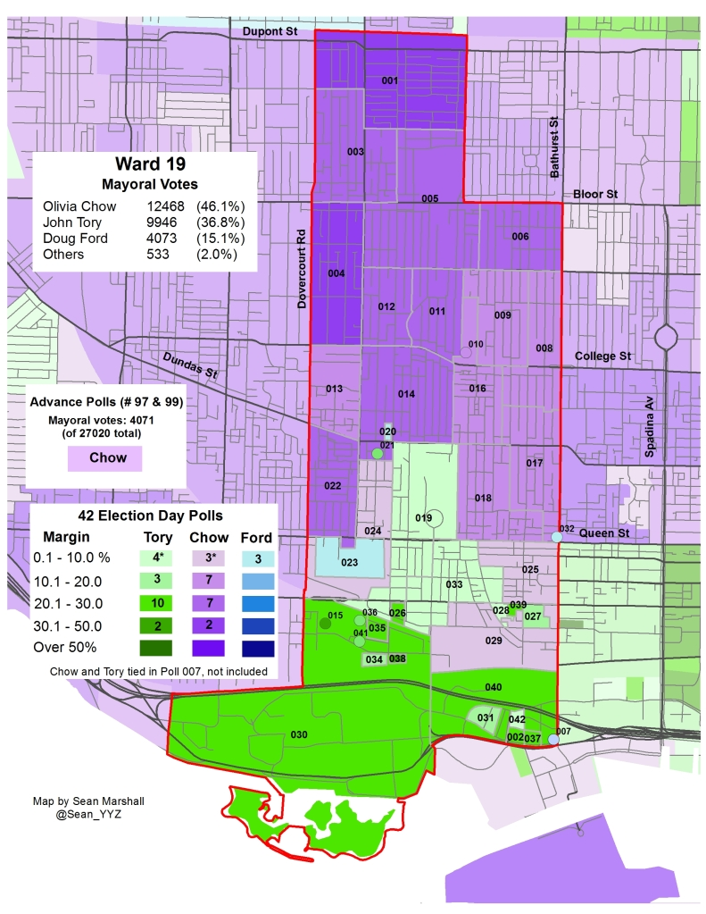 2014 Election - WARD 19 Mayor