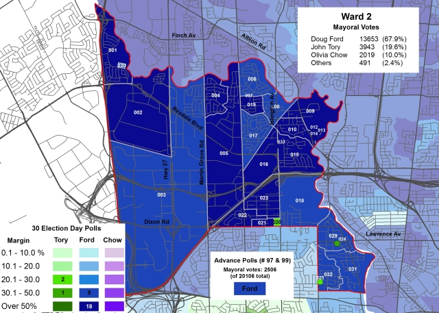 2014 Election - WARD 2 Mayor