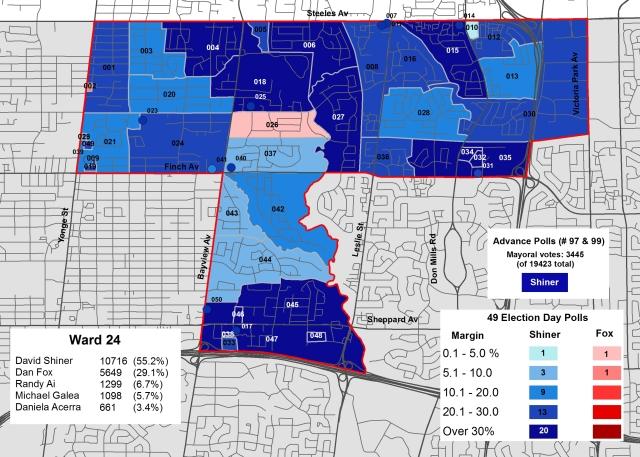 2014 Election - WARD 24 Cllr
