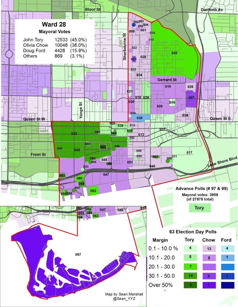 2014 Election - WARD 28 Mayor