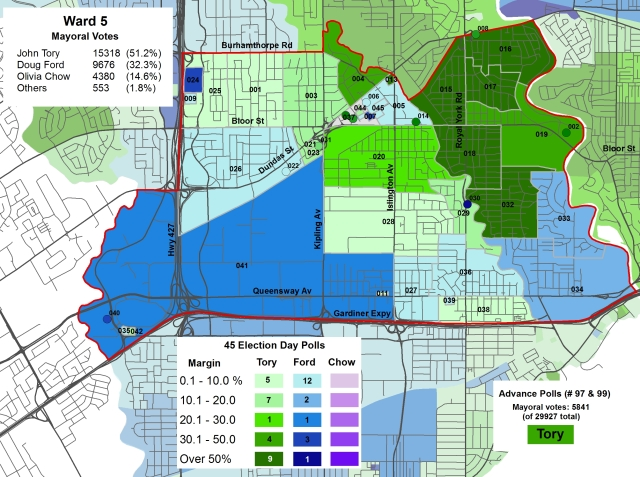 2014 Election - WARD 5 Mayor