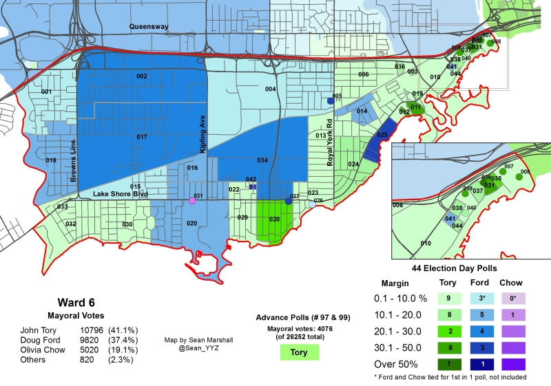 2014 Election - WARD 6 Mayor