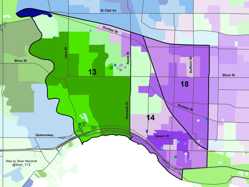 2014 Election - West End