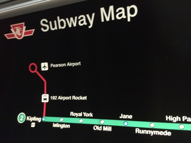 Toronto Subway Map Union Station.The Over Simplification Of The Ttc S Maps Marshall S Musings