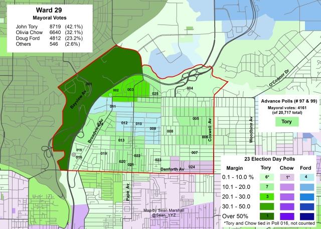 2014 Election - WARD 29 Mayor
