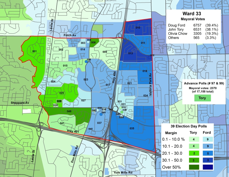 2014 Election - WARD 33 Mayor