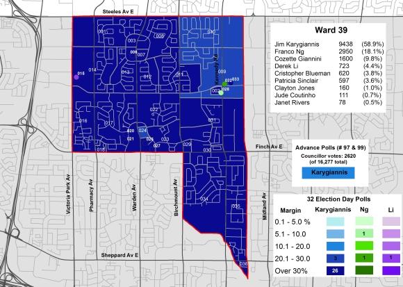 2014 Election - WARD 39 Cllr