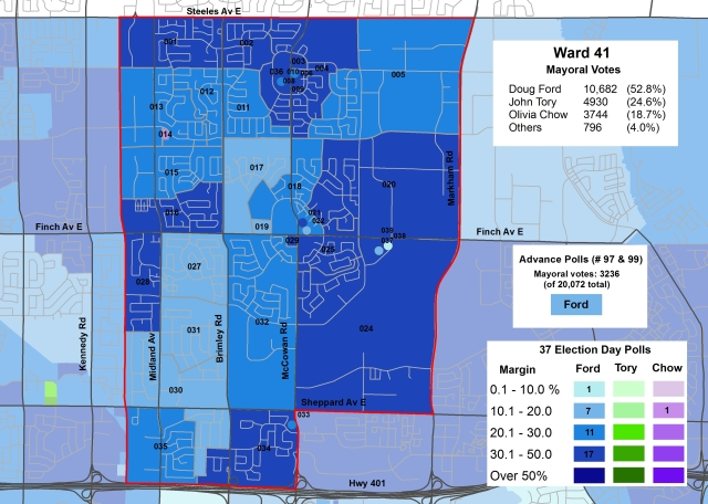 2014 Election - WARD 41 Mayor