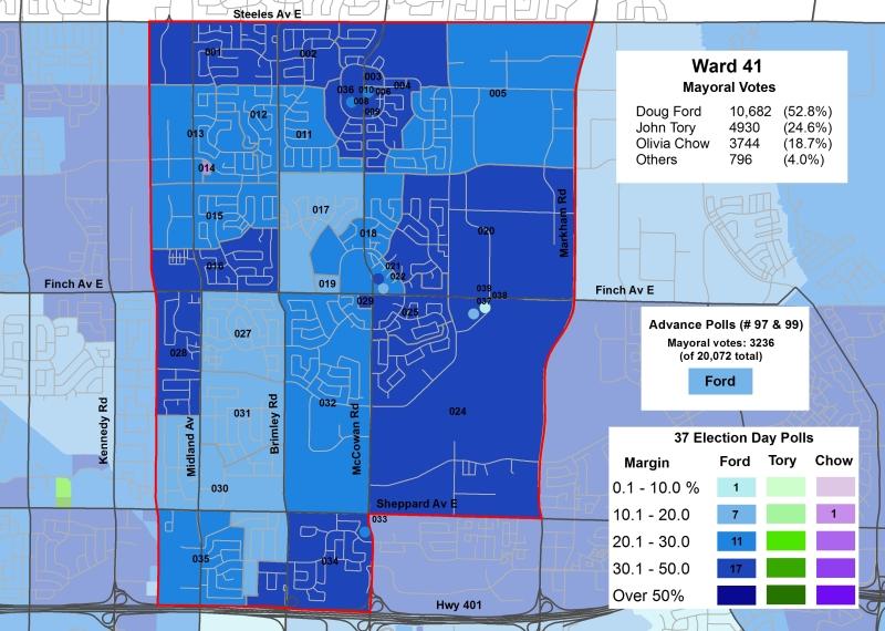 2014 Election - WARD 41 Mayor