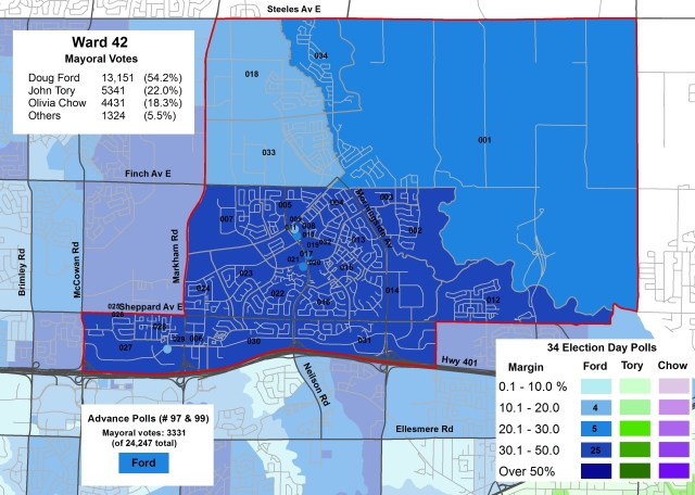 2014 Election - WARD 42 Mayor