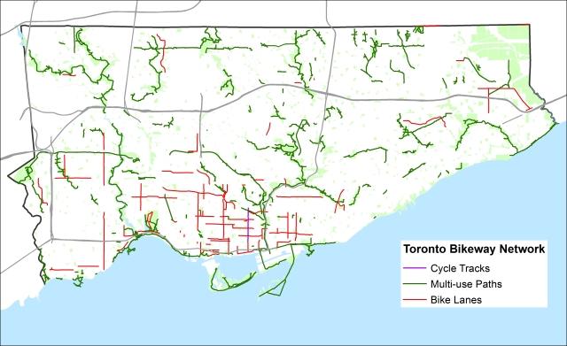Bike Routes - WO Gaps, sharrows