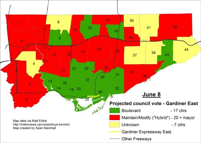 East Gardiner Vote - June 8
