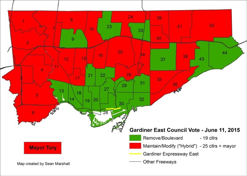 TT - Gardiner Vote