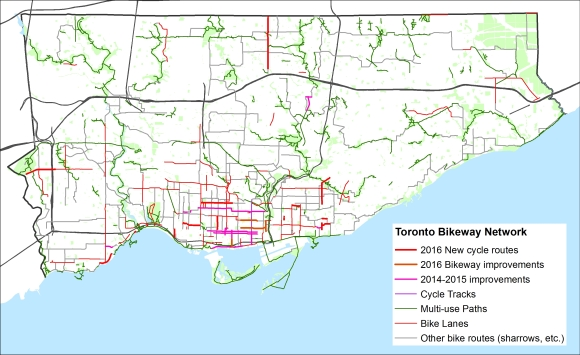 Bike Routes - Sept17