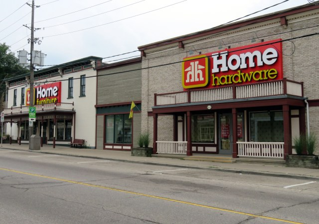 A ride through midwestern ontario part i marshall39s musings for St jacobs furniture home hardware