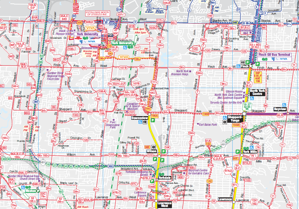 A new improved TTC system map Marshalls Musings
