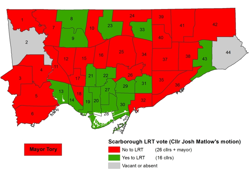 TT - Scarborough Vote