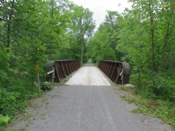Bridge over Indian River, re-decked for trail users