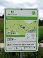 The Lang-Hastings Trail is well signed; maps appear regularly along the route