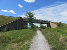 Entering Lindsay from the east, under Highway 36 to Bobcaygeon