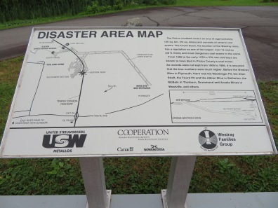Disaster area map