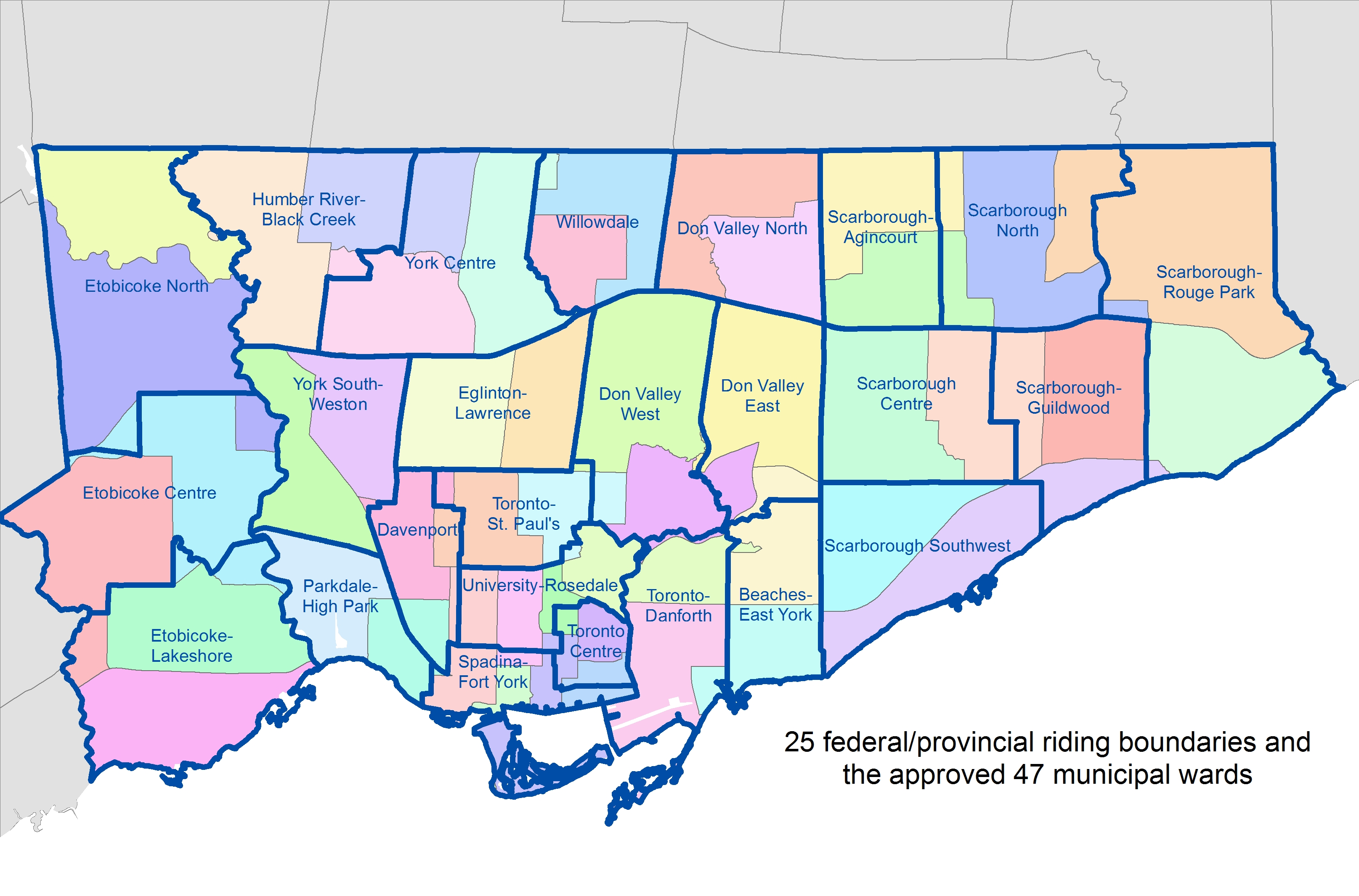 Image result for toronto 25 ward
