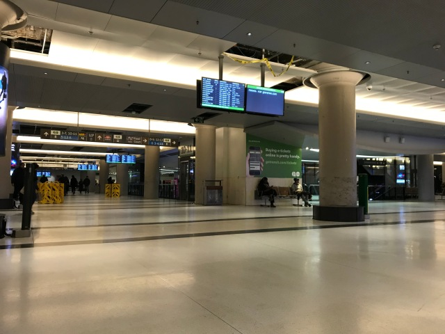York Concourse, March 16 2020
