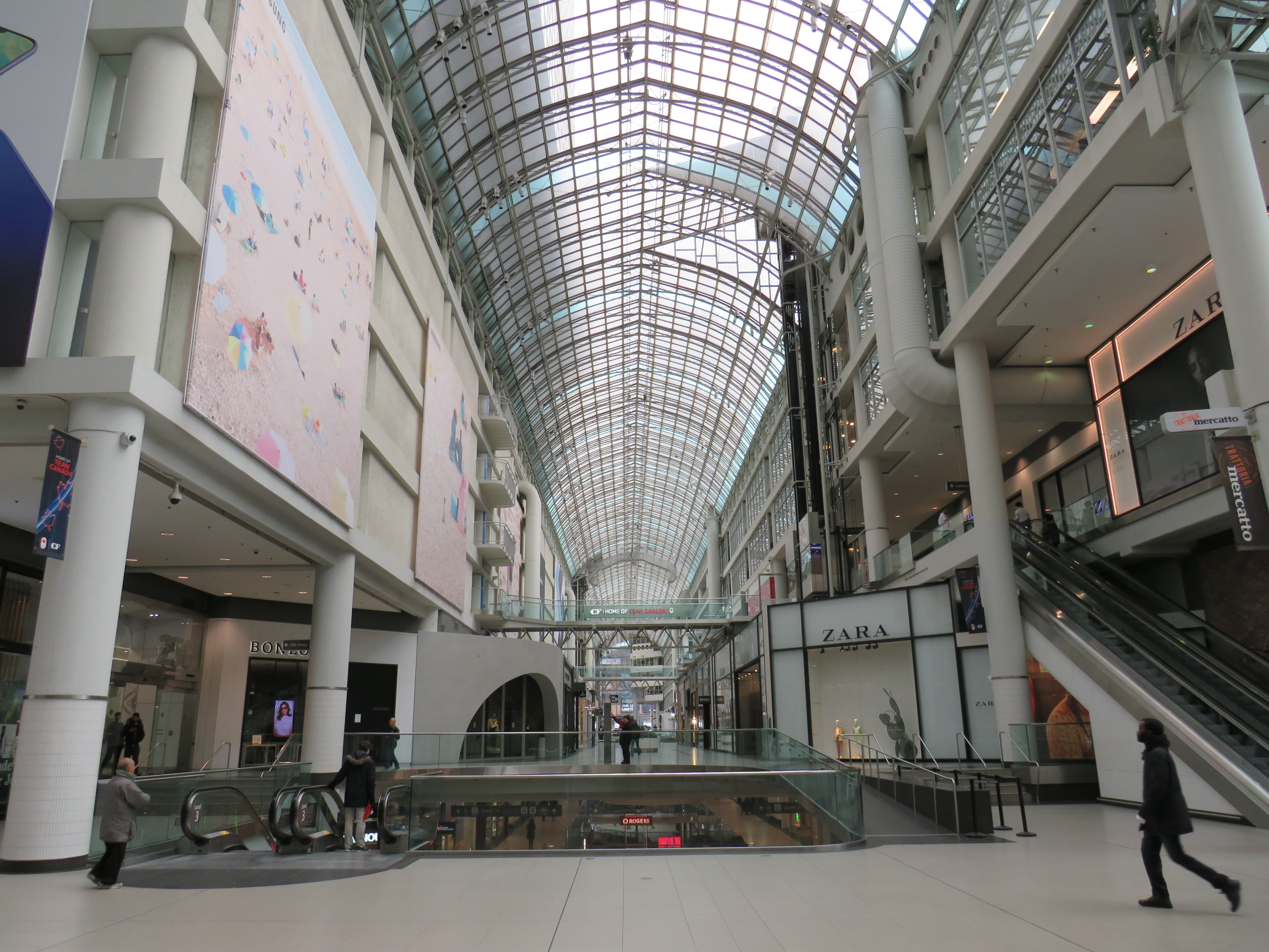 Eaton Centre March 19 2020