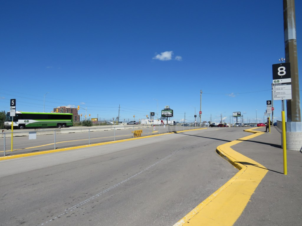 Temporary bus terminal, Bramalea GO Station